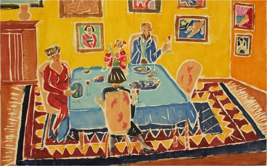 Aline Feldman new - Dinner with Matisse