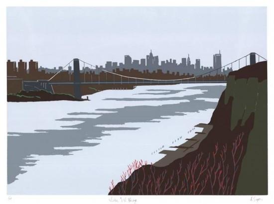 Allan Simpson - Winter, G.W. Bridge