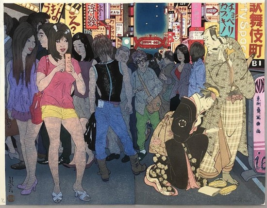 Paul Binnie - Prints - Bijin-ga - Kabukicho