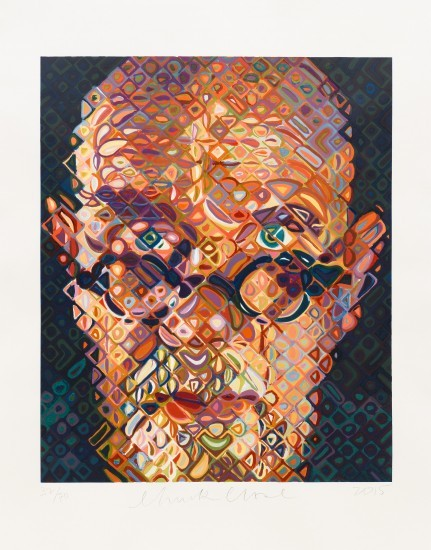 Chuck Close - Self-Portrait 2015