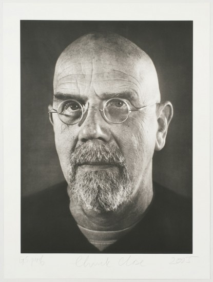 Chuck Close - Self Portrait 2005