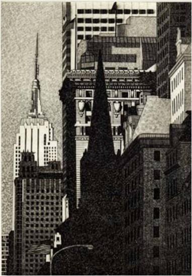 DeAnn L Prosia - Looking South, Manhattan