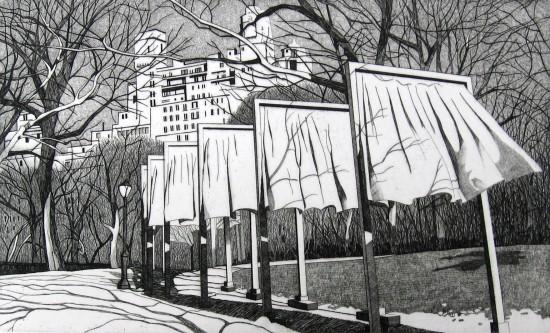 DeAnn L Prosia - The Gates of Central Park