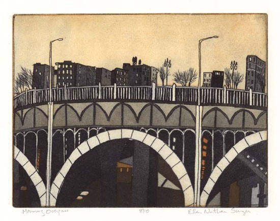 Ellen Nathan Singer - Prints - Morning Overpass, New York City