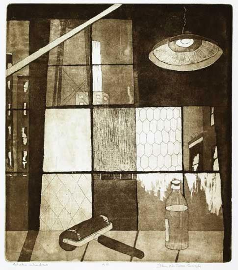Ellen Nathan Singer - Prints - Studio Window