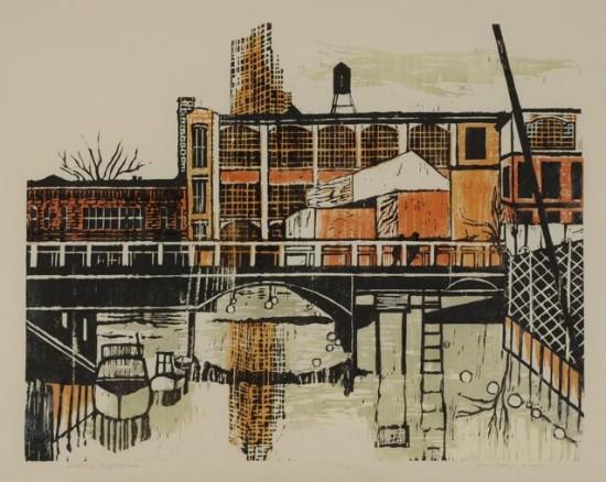 Ellen Nathan Singer - Prints - Brooklyn Reflections
