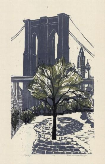 Ellen Nathan Singer - Prints - The Bridge (Brooklyn)