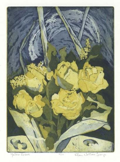 Ellen Nathan Singer - Prints - Yellow Roses