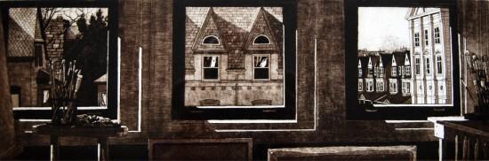 Eric Goldberg - Prints - Studioscape (B +W)