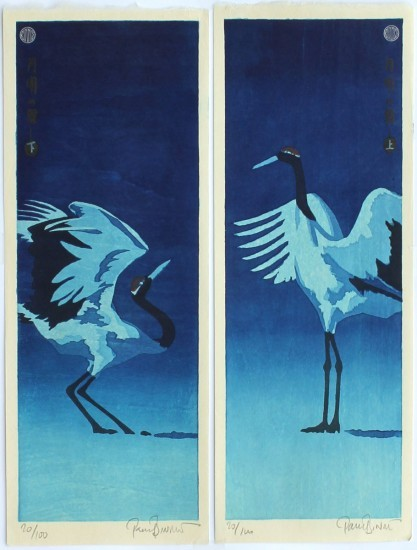Paul Binnie - Prints - Fukei-ga 2 - Getsumei (Moonlight Dance)