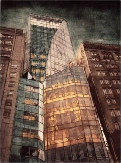 Grace Bentley-Scheck - City Nights-LVMH Tower