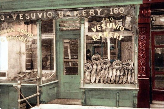 Grace Bentley-Scheck - Vesuvio Bakery