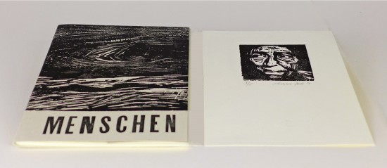 Ilse Schreiber-Noll - Menschen portfolio with 10 prints and text by Walt Whitman