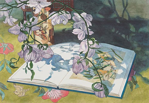 Jane Goldman - Prints - Audubon April