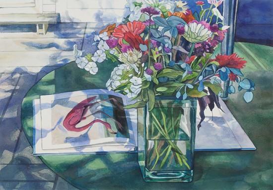 Jane Goldman - Prints - Audubon August