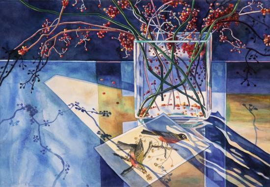 Jane Goldman - Prints - Audubon January