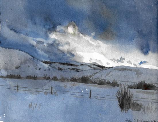 Jane Goldman - Prints - Colorado Winter 1