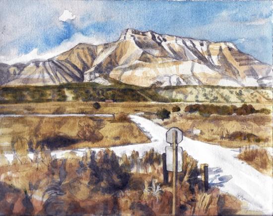 Jane Goldman - Prints - Colorado Winter 2