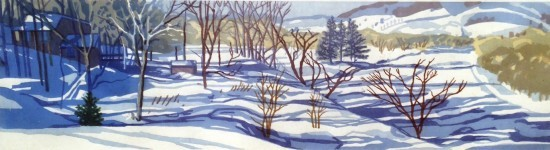 Jane Goldman - Prints - Quechee Sunny Day-1