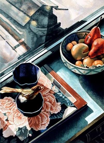 Jane Goldman - Prints - Ellen's Window