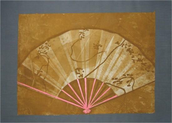 Jane Goldman - Prints - Fan I