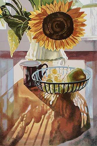 Jane Goldman - Prints - Sunflower