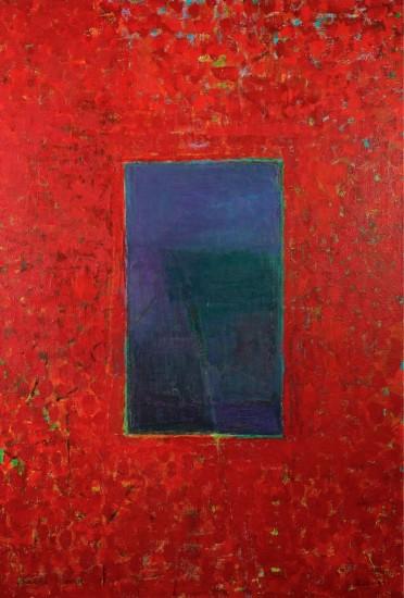 Keiko Hara Paintings - Verse Voice in Red