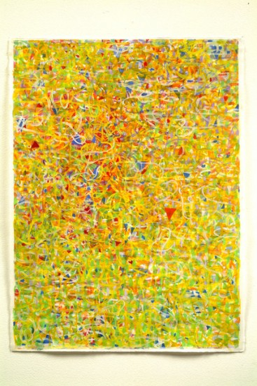 Keiko Hara - Works on paper - Verse Yellow