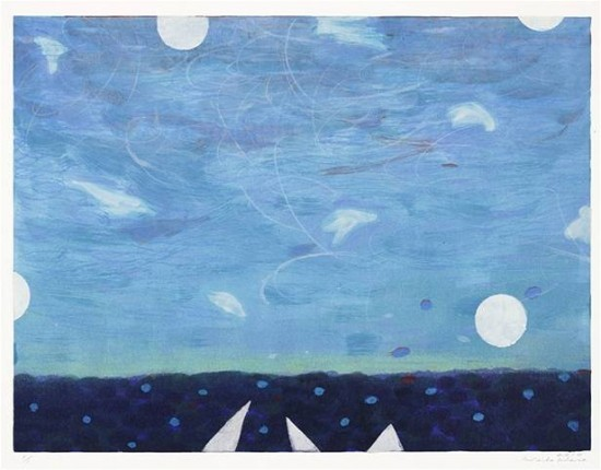 Keiko Hara - Works on paper - Space Sukumu-Sky 104