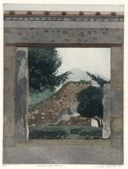 Linda Adato - Color etchings: urban landscapes and other imagery - Beyond the Ruins