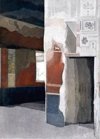Linda Adato - Color etchings: urban landscapes and other imagery - Solitude