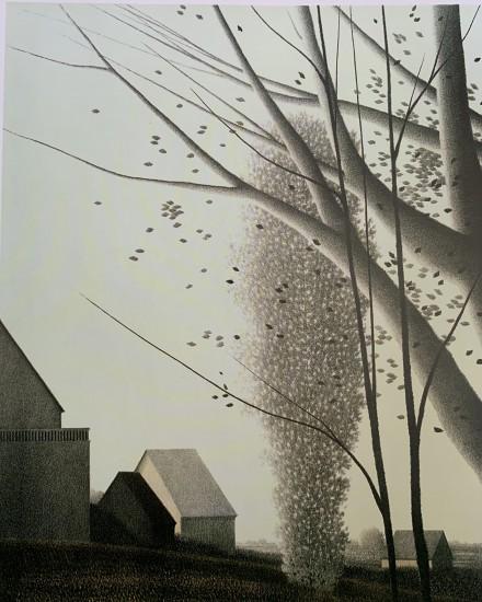Robert Kipniss - Lithographs - 14 Afternoon