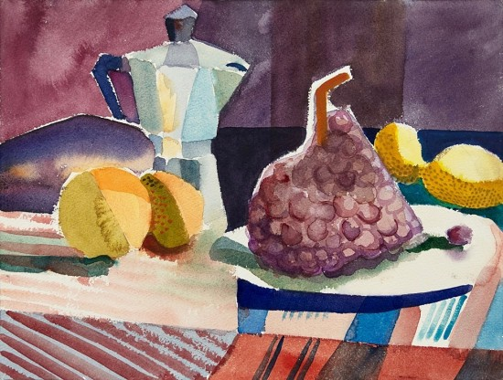 Mary Prince - Coffee Pot with Fruit