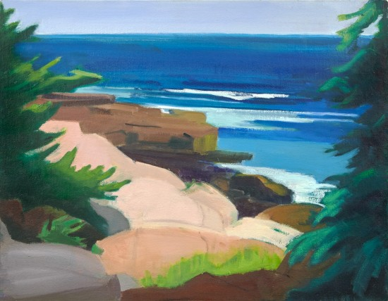 Mary Prince - South from Schoodic