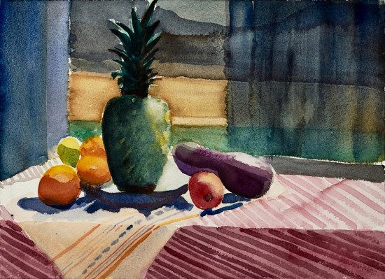 Mary Prince - Still Life with Pineapple