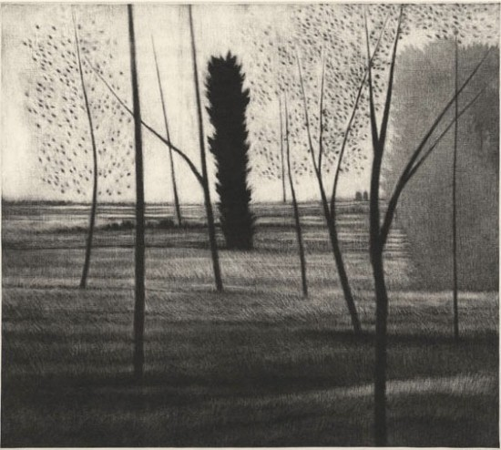 Robert Kipniss - Mezzotints - Distances