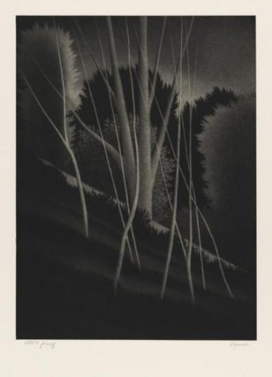 Robert Kipniss - Mezzotints - Ghosts