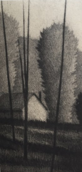 Robert Kipniss - Mezzotints - Home, Sharon