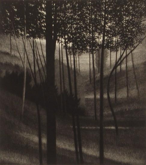 Robert Kipniss - Mezzotints - Seclusion