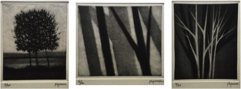 Robert Kipniss - Mezzotints - Suite of Small Prints