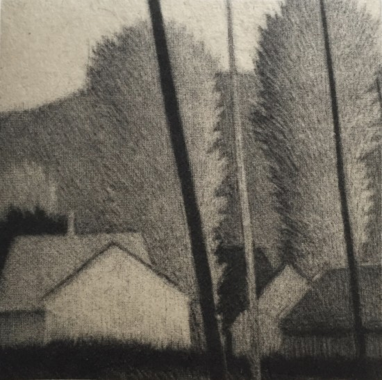 Robert Kipniss - Mezzotints - Small village