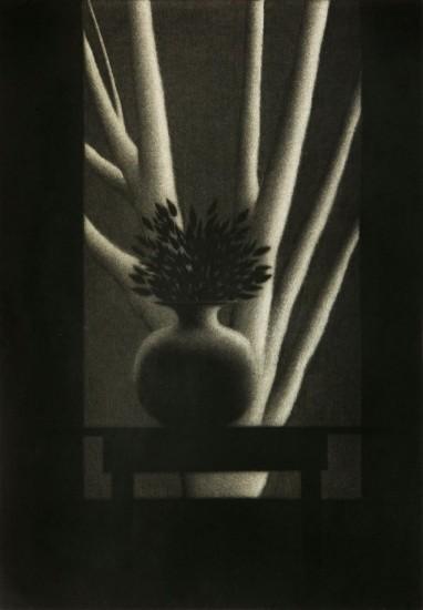 Robert Kipniss - Mezzotints - The black table