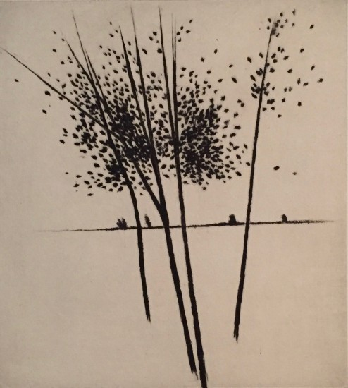Robert Kipniss - Mezzotints - To the horizon