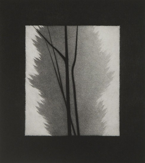 Robert Kipniss - Mezzotints - Composition in black, gray and white