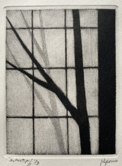 Robert Kipniss - Mezzotints - Without-within II