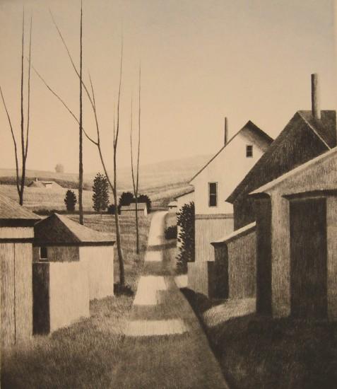 Robert Kipniss - Mezzotints - Springfield, O.