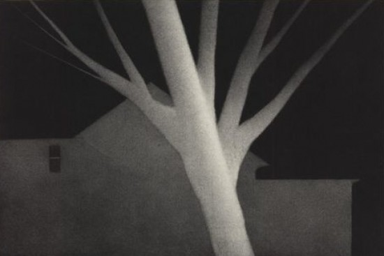 Robert Kipniss - Mezzotints - Winter Evening