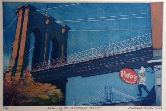 Michael Arike - Pete's, by the Brooklyn Bridge