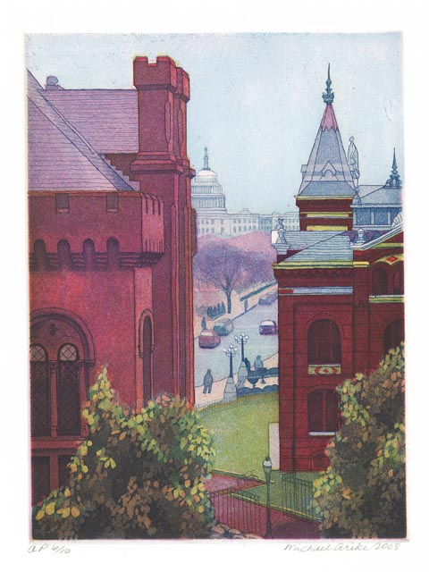 Michael Arike - View of the Castle and the Capital
