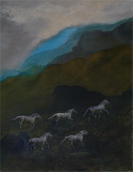 Murray Zimiles - Horses